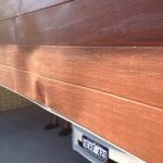 Broken Wood Grain Look Garage Roller Door