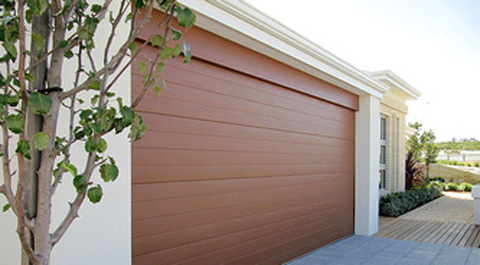Brown Colour Roller Garage Door