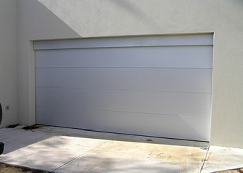 White Panel Garage Roller Door