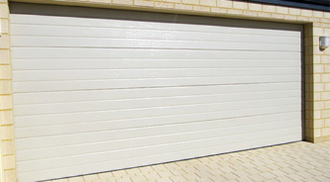 Cream Colour Garage Roller Door