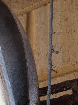 Broken Frayed Garage Roller Door Wires