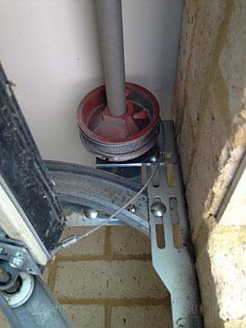 Broken Garage Roller Door Opener