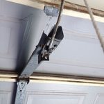 Broken Garage Roller Door Hinge Opener