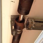 Broken Rusty Garage Roller Door Springs