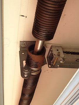 Broken Rusty Garage Roller Door Springs